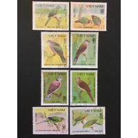Голуби. Вьетнам,1981, серия 8 марок