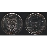 Official England Squad. National Coach. Glenn Hoddle -- 1998 The Official England Squad Medal Collection (f01)