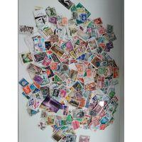 Отличный лот марок мира.500 шт