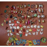 Коллекция ёлочных игрушек. С РУБЛЯ. АУКЦИОН!!!