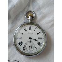 Карманные крупные металлические часы Павел Буре