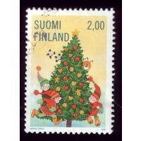 1 марка 1998 год Финляндия 1457