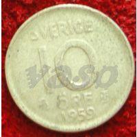 7134:  10 эре 1959 Швеция