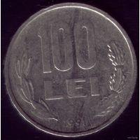 100 Лей 1991 год Румыния