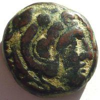МАКЕДОНИЯ. КАССАНДР (316-297 г.до н.э) АЕ16.