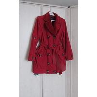 Дешево! Красивая куртка на иск.меху . Р-р 48 Весна-красна.