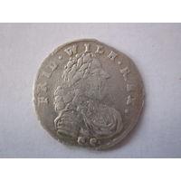 Прусские 6 грошей 1715 г.