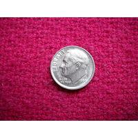 США 10 центов ( дайм ) 1987 г. P