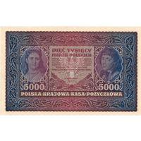 Польша, 5 000 марок польских, 1920 г. Состояние!