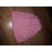 Комплект шапочка и шарф Mathercare на рост примерно 116 - 128 см.