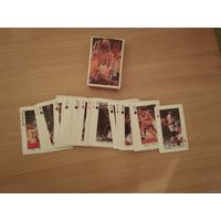 Игральные карты звёзды НБА(времён Баркли,Сабониса).Конец прошлого века.Почтой не высылаю.