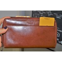 Брендовый кошелёк из натуральной кожи от OSPREY, London