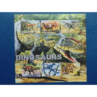 Туркменистан 2001г. Фауна. Динозавры.