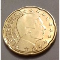 20 евроцентов, Люксембург 2005 г., UNC