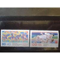 Берлин 1987 Спорт Михель-5,0 евро полная серия