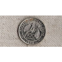 Сьерра-Леоне 100 леонов 1996/флора/(NS)