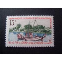 Мавритания. Mi:MR 170 - 1960 год (народные мотивы)