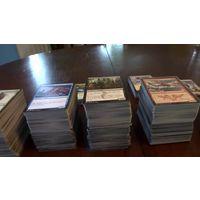 100 карт МТГ - Карточки Magic: the gathering, карты магии, МТГ, MTG. Продам пачку из ста случайных карт - без повторов.