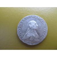 1 рубль 1762 Петр 3