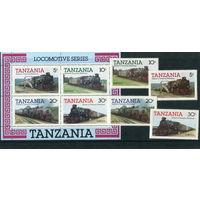 Танзания. Железнодорожный транспорт