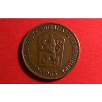 50 геллеров 1963. Чехословакия.