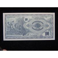 Македония 100 динаров 1992 г UNC