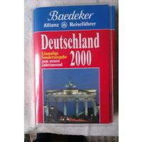 """Страноведение. """"Книга о Германии """"Deutschland 2000"""" на немецком языке (Германия)"""