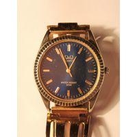 Часы Q&Q quartz кварцевые с красивым браслетом