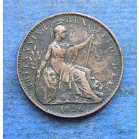 Великобритания 1 фартинг 1826 Георг IIII