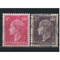 Люксембург 1948 Шарлотта Стандарт #449,453