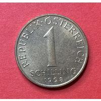 Австрия 1 шиллинг 1998г.