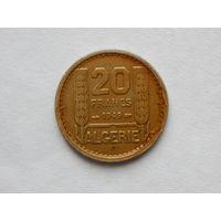 Алжир 20 франков 1949г