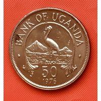 23-21 Уганда, 50 центов 1976 г.