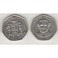 Ямайка km164 1 доллар 2005 год (al)(f15)