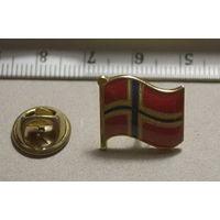Значок флаг Норвегии