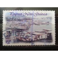 Папуа Новая Гвинея 2003 Плавучий город Михель-1,4 евро гаш