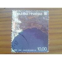 Хорватия 2007 марка из блока Mi-2,7 евро гаш.