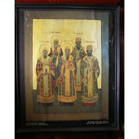Икона репродукция, размер 33x40 см. с рубля