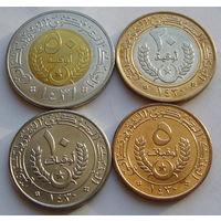 Мавритания. Набор 4 монеты 2009-2010 года 5 угий - 50 угий /UNC/