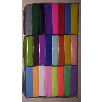 Полимерная глина. Набор 24 цвета. Пластика для запекания и моделирования.