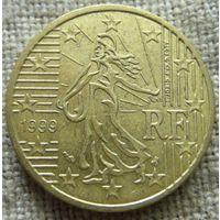 50 евроцентов 1999 Франция