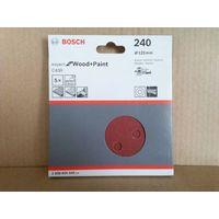 BOSCH (2608605645) шлифлист 5шт. в упаковке. Оригинал.