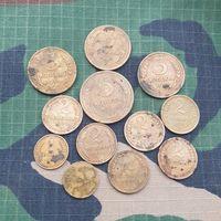 12 монет одним лотом.