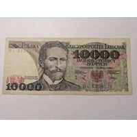 10000 злотых 1988