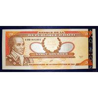 РАСПРОДАЖА С 1 РУБЛЯ!!! Гаити 20 гурдов 2001 год UNC