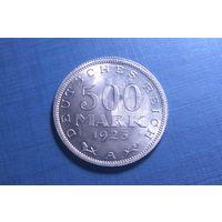 500 марок 1923 А. Веймарская республика (Марка). UNC.