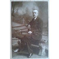 Фото друга Тины Виноградовой. 1923 г. 9х13 см.  (Из фотографий семьи Виноградовых)