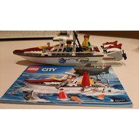 Конструктор Лего city 60147 Рыболовный катер Lego