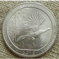 25 центов 2015 США - Национальный парк Кисачи