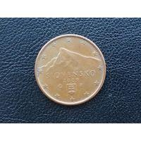 Словакия 5 евроцентов  2009 г.